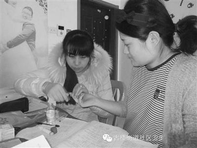 古楼街道社区卫生服务中心妇幼工作人员辖区产妇出院到产妇家中进行访视