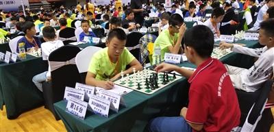 中国体育彩票2019年全国国际象棋青少年锦标赛(团体)在我区举办